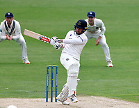 Tom Haines hits out for Sussex during Kent CCC vs Sussex CCC, LV Insurance County Championship Group 3 Cricket at The Spitfire Ground on 11th July 2021