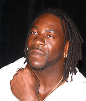 Wrestlemania XIX Press Conference Booker T  2003                      By John Barrett/PHOTOlink