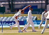 Fred Klaassen bowls for Kent during Kent CCC vs Lancashire CCC, LV Insurance County Championship Group 3 Cricket at The Spitfire Ground on 23rd April 2021