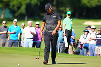 Byeong Hun An on the 5th green during the BMW PGA Golf Championship at Wentworth Golf Course, Wentworth Drive, Virginia Water, England on 26 May 2017. Photo by Steve McCarthy/PRiME Media Images.