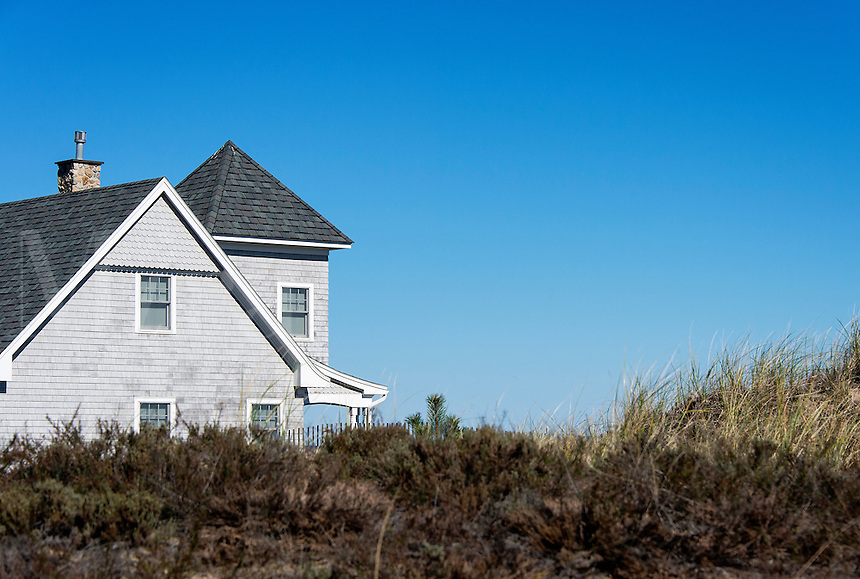 Rustic waterfront beach house, Plum Island, Massachusetts