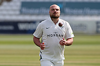 Worcestershire skipper Joe Leach during Essex CCC vs Worcestershire CCC, LV Insurance County Championship Group 1 Cricket at The Cloudfm County Ground on 9th April 2021