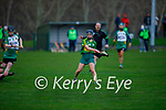 Kerry's Caoimhe Spillane goes on a solo run against  Meath in the Camogie Intermediate Championship