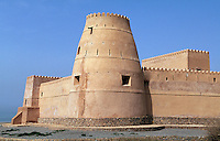 Oman, Musandam-Halbinsel, Fort in Bukha