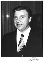 Yvon Lamarre, President du Comite Executif de Montreal<br /> , 1977<br /> PHOTO : JJ Raudsepp<br />  - Agence Quebec presse