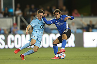 SAN JOSE, CA - AUGUST 17: Cade Cowell #44 of the San Jose Earthquakes before a game between Minnesota United FC and San Jose Earthquakes at PayPal Park on August 17, 2021 in San Jose, California.