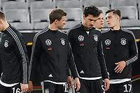 Thomas Mueller (Deutschland Germany), Mats Hummels (Deutschland Germany) beim Einlauf - Innsbruck 02.06.2021: Deutschland vs. Daenemark, Tivoli Stadion Innsbruck