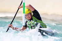 Kahlia Cullwick. Oceania Canoe Slalom Championships, Whero Whitewater Park, Auckland, New Zealand, 1st February 2020. Photo: Simon Watts/www.bwmedia.co.nz