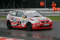 Round 4 of the 2005 British Touring Car Championship. #10. James Kaye (GBR). Synchro Motorsport. Honda Civic Type-R.