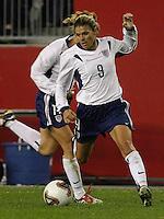 Mia Hamm, USA vs. Norway, in Boston, Ma, 2003 WWC.