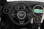 Car pictures of steering wheel view of a 2019 Mini Cooper S Signature 2 Door Convertible