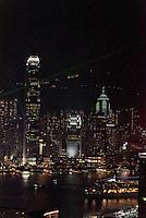 Blick von Kowloon auf Skyline von Hongkong, China<br /> View from Kowloon, Skyline of Hongkong, China