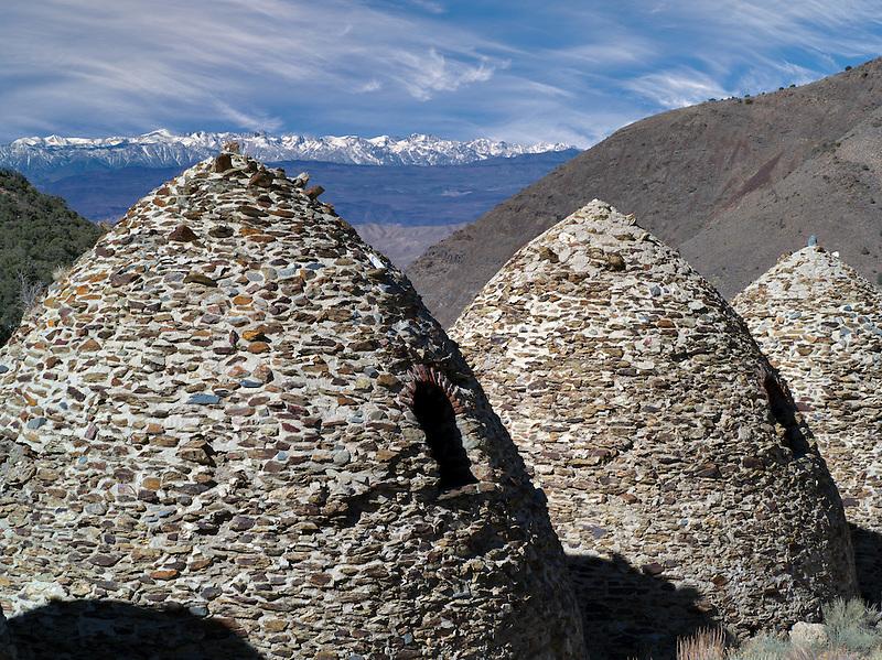 Charcoal kilns. Death Valley National Park, California