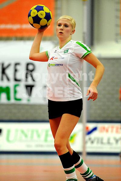 GRONINGEN - Korfbal, Alfa College, NIC - DOS 46 ,korfbal league,  seizoen 2011-2012, 30-11-2011, Susan Veldstra.