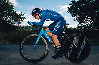 6th October 2021 Womens Cycling Tour, Stage 3. Individual Time Trial; Atherstone to Atherstone. Lourdes Jimenez Oyarbide.