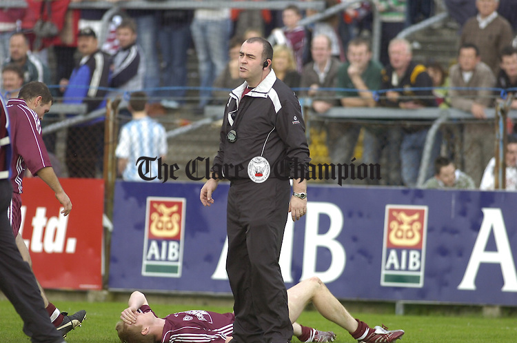 County Football Final Lissycasey v Eire Og at Cusack Park.Pic Arthur Ellis.