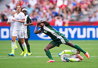 Vancouver, Canada - June 16, 2015:  The USWNT defeated Nigeria 1-0 in their final group game at BC Place in Vancouver.