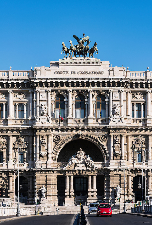 Palace of Justice, Piazza dei Tribunali, Rome, Italy