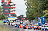 neutralised start at the Imola Race Circuit<br /> <br /> Men's Elite Road Race from Imola to Imola (258km)<br /> <br /> 87th UCI Road World Championships 2020 - ITT (WC)<br /> <br /> ©kramon