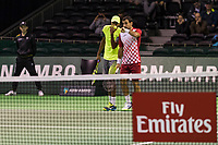 ABNAMRO World Tennis Tournament, 15 Februari, 2018, Rotterdam, The Netherlands, Ahoy, Tennis, doubles: Lukasz Kubot (POL) and Marcelo Melo (BRA)     Ivan Dodig (CRO) and Rajeev Ram (USA)<br /> <br /> Photo: www.tennisimages.com
