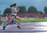 23rd May 2021; Gateshead International Stadium, Gateshead, Tyne and Wear, England; Muller Diamond League Grand Prix Athletics, Gateshead; Laura Muir on her way to winning the women's 1500 metres