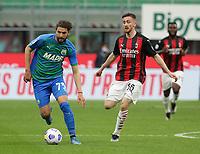 Milano  21-04-2021<br /> Stadio Giuseppe Meazza<br /> Serie A  Tim 2020/21<br /> Milan - Sassuolo<br /> Nella foto:  Locatelli                                    <br /> Antonio Saia Kines Milano