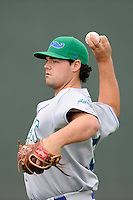 Pitcher Matt Murray (33) of the Lexington Legends before a game against the Greenville Drive on Sunday, August 18, 2013, at Fluor Field at the West End in Greenville, South Carolina. Greenville won Game 2 of a doubleheader, 1-0. (Tom Priddy/Four Seam Images)