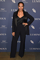 LONDON, UK. October 01, 2019: Naomie Ackie at the Luminous Gala 2019 at the Roundhouse Camden, London.<br /> Picture: Steve Vas/Featureflash
