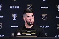 SEATTLE, WA - NOVEMBER 7: Alejandro Pozuelo #10 of Toronto FC at Grand Hyatt Seattle on November 7, 2019 in Seattle, Washington.