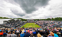 Den Bosch, Netherlands, 16 June, 2017, Tennis, Ricoh Open,  Overall view Centercourt with Arantxa Rus far side<br /> Photo: Henk Koster/tennisimages.com