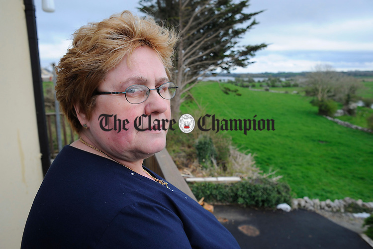 Retired nurse Bridie Cox at home in Corofin.  Photograph by John Kelly.