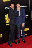 """NEW YORK, NY - FEBRUARY 04: Grant Heslov, Dimitri Leonidas at the New York Premiere Of Columbia Pictures' """"The Monuments Men"""" held at Ziegfeld Theater on February 4, 2014 in New York City, New York. (Photo by Jeffery Duran/Celebrity Monitor)"""