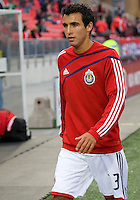 22 April 2009: Chivas USA defender Jonathan Bornstein #13 during the warm-up at BMO Field in a MLS game between Chivas USA and Toronto FC.Toronto FC won 1-0. .