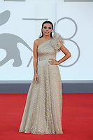 """VENICE, ITALY - SEPTEMBER 08: Serena Rossi attends the red carpet of the movie """"Freaks Out"""" during the 78th Venice International Film Festival on September 08, 2021 in Venice, Italy. (Photo by Mark Cape/Insidefoto)"""