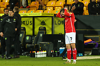 2nd January 2021; Carrow Road, Norwich, Norfolk, England, English Football League Championship Football, Norwich versus Barnsley; A dejected Callum Brittain of Barnsley after the 1-0 loss