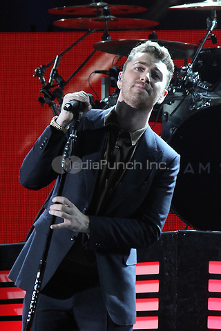 LOS ANGELES, CA - OCTOBER 24: Sam Smith performs at the Third Annual We Can Survive benefit concert at The Hollywood Bowl in Los Angeles, California on October 24, 2015. Credit: mpi21/MediaPunch