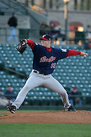 Pawtucket Red Sox Jon Lester during an International League game at Frontier Field on May 6, 2006 in Rochester, New York.  (Mike Janes/Four Seam Images)