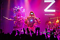 Robot Band Z-Machines Debut Live