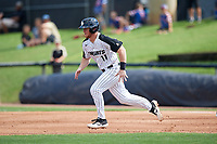 UCF Knights third baseman Griffin Bernardo (11) runs the bases during a game against the Siena Saints on February 17, 2019 at John Euliano Park in Orlando, Florida.  UCF defeated Siena 7-1.  (Mike Janes/Four Seam Images)