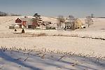 Winter barn, Union County