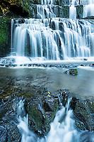 Purakaunui Falls, Catlins, Southland, New Zealand