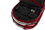 Car Stock 2020 Chevrolet Impala Premier 4 Door Sedan Engine  high angle detail view