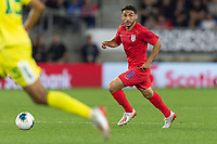 SAINT PAUL, MN - JUNE 18: Cristian Roldan of the United States during a 2019 CONCACAF Gold Cup group D match between the United States and Guyana on June 18, 2019 at Allianz Field in Saint Paul, Minnesota.