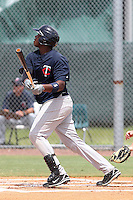 Kennys Vargas (33) Infielder for the GCL Twins during a game against the GCL Rays on July 16th, 2010 at Charlotte Sports Park in Port Charlotte Florida. The GCL Twins are the the Gulf Coast Rookie League affiliate of the Minnesota Twins. Photo by: Mark LoMoglio/Four Seam Images