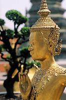 Thaïlande/Bangkok: Wat Phra Kaeo - Détail apsonsi