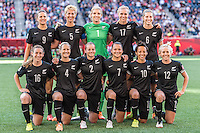 WINNIPEG, MANITOBA, CANADA - June 15, 2015: New Zealand and China played to a 2-2 draw in Women's World Cup action at  Winnipeg Stadium.