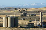 Jonah natural gas field south of Pinedale, Wyoming.