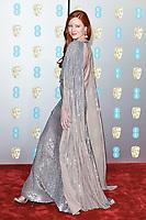 Barbara Meier<br /> arriving for the BAFTA Film Awards 2019 at the Royal Albert Hall, London<br /> <br /> ©Ash Knotek  D3478  10/02/2019