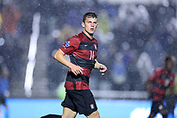 CARY, NC - DECEMBER 13: Zach Ryan #14 of Stanford University during a game between Stanford and Georgetown at Sahlen's Stadium at WakeMed Soccer Park on December 13, 2019 in Cary, North Carolina.