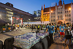 Runners participate at Bloomberg Square Mile Relay in London, United Kingdom. Photo by Ian Roman / Power Sport Images